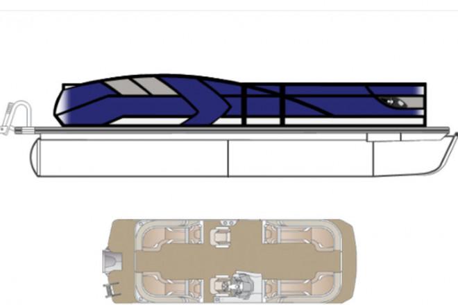 2022 Crest CARIBBEAN LX 230 SLC