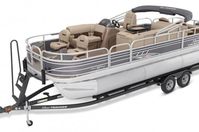 2022 Sun Tracker Fishin' Barge