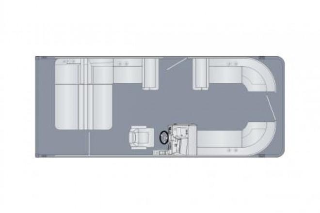 2021 Harris FloteBote Coming Soon 230 Cruiser