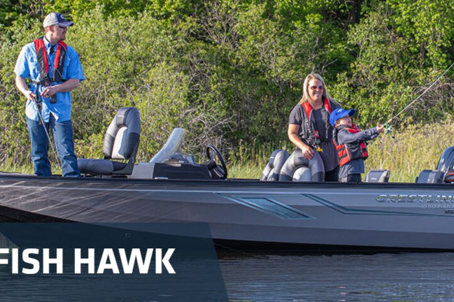 2021 Crestliner Fish Hawk