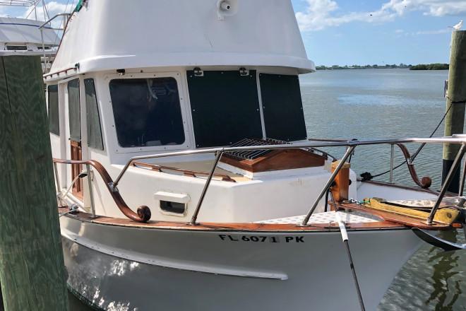 1978 CHB Trawler