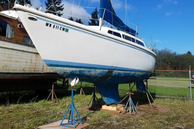 1979 Catalina sailboat