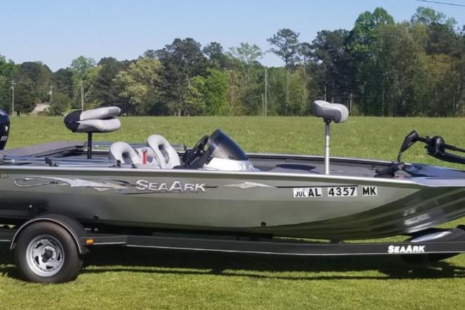 2013 SeaArk Stealth 186