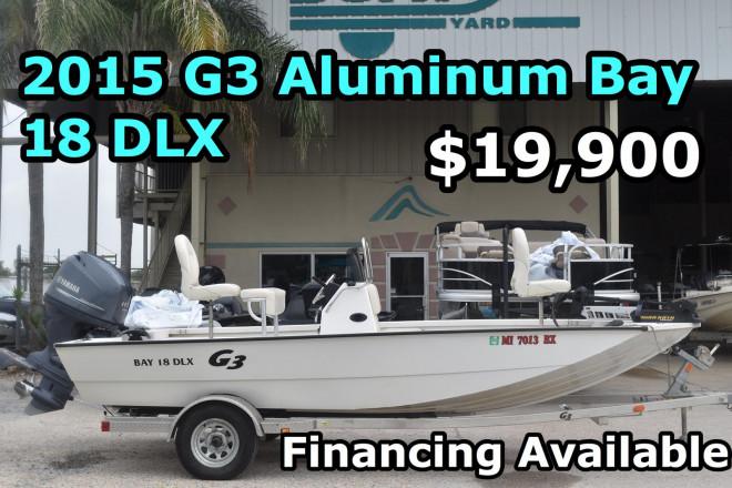 2015 G3 Boats Bay 18 DLX