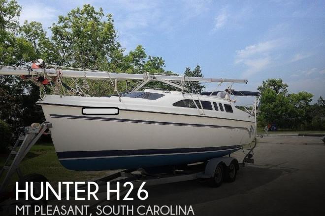 1995 Hunter H26
