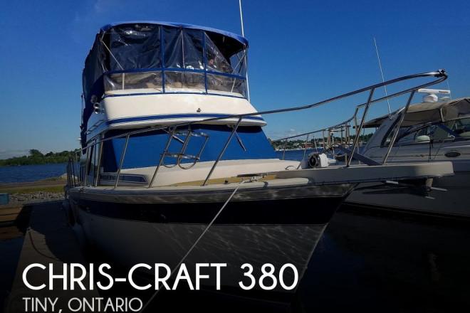 1984 Chris Craft Corinthian 380