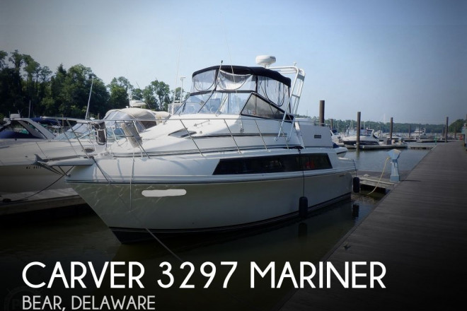 1986 Carver 3297 Mariner