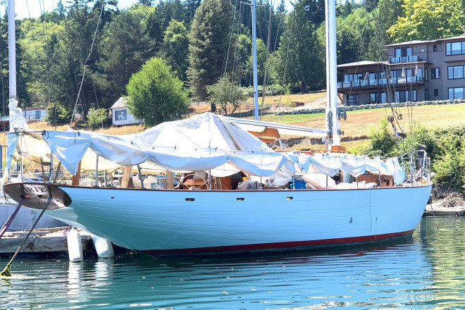 1946 Ed Monk Classic Sloop/Cutter