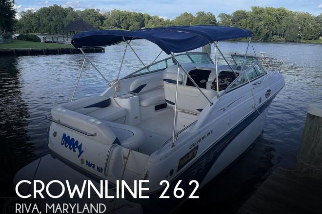 2002 Crownline 262
