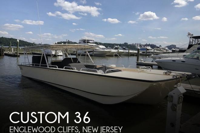 2008 Custom Built 36 Diesel Deck/Party Boat