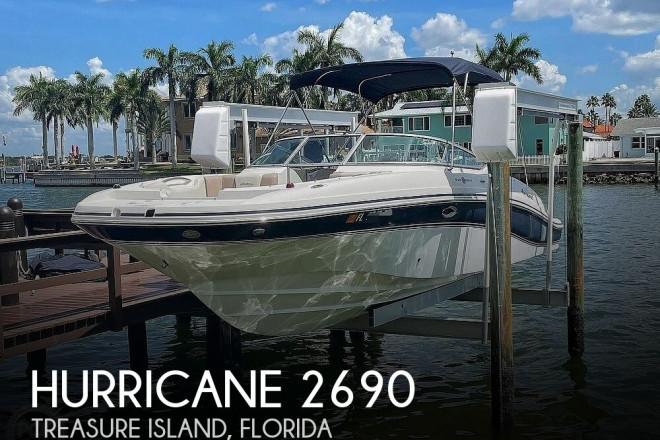 2014 Hurricane 2690 Sun Deck