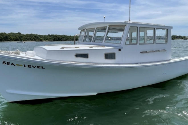 2003 Custom Built Crow Point Custom Lobster Boat by Monaghan Brothers