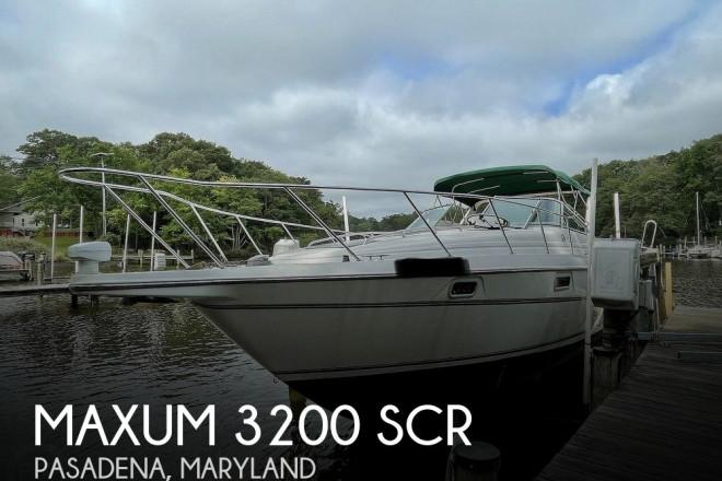 1999 Maxum 3200 SCR