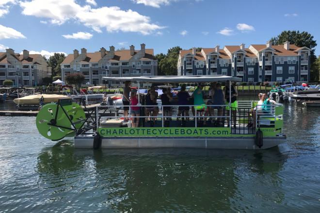 2017 Cascade 16 Passenger Cycleboat