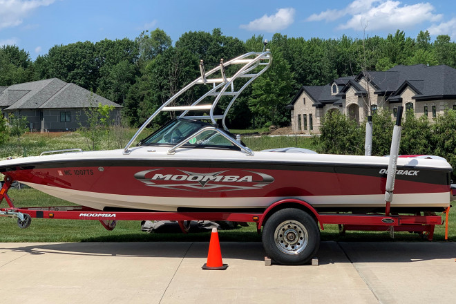 2011 Moomba Outback LSV