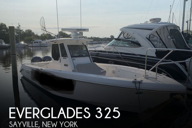 2012 Everglades 325 Pilot