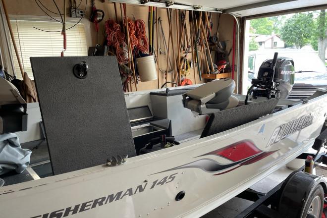 2008 Alumacraft Fisherman 145