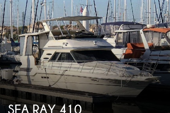 1987 Sea Ray 410 AFT Cabin