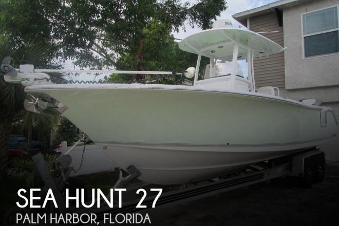2016 Sea Hunt Gamefish 27