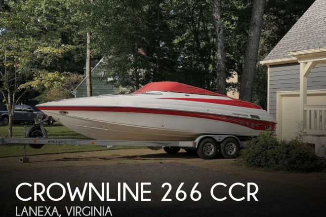 2003 Crownline 266 CCR