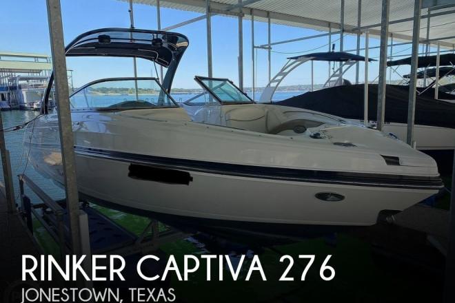 2011 Rinker Captiva 276