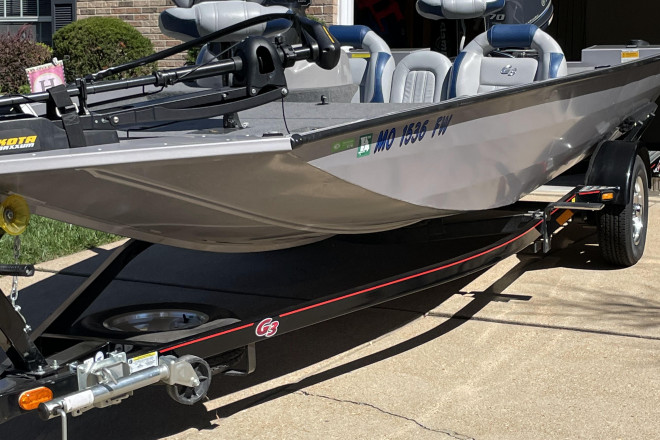 2013 G3 Boats Eagle Talon 17DLX