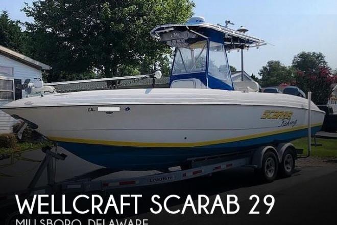 2002 Wellcraft SCARAB 29