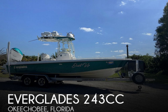 2017 Everglades 243CC
