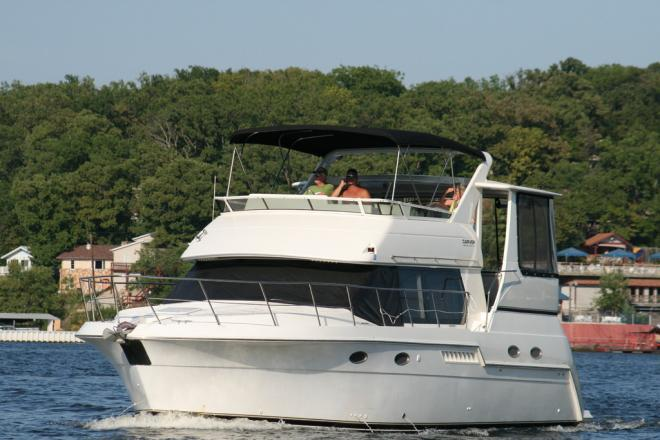 1999 Carver 406 - For Sale at Lake of the Ozarks, MO 65065 - ID 26195