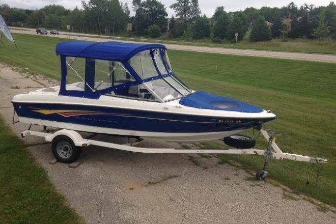 2007 Bayliner 175 BOW RIDER - For Sale at Sturgeon Bay, WI 54235 - ID 73975