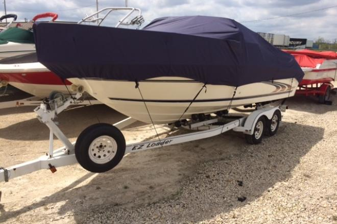 1997 Sea Ray 215 EXPRESS CRUISER - For Sale at Pewaukee, WI 53072 - ID 69590