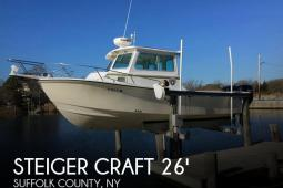 2008 Steiger Craft 26 Chesapeake