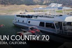 2001 Fun Country 70' x 16' Houseboat