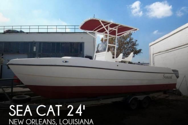1991 sea cat 24 cc catamaran m240f90 24 foot 1991 high for Office of motor vehicles new orleans la