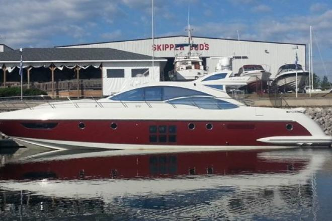 2008 Azimut 62 S - For Sale at Winthrop Harbor, IL 60096 - ID 71202