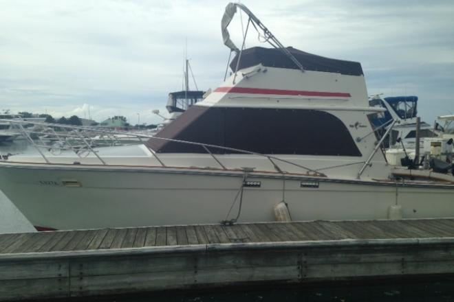 1982 Egg Harbor 33 SPORT FISH - For Sale at Winthrop Harbor, IL 60096 - ID 73981