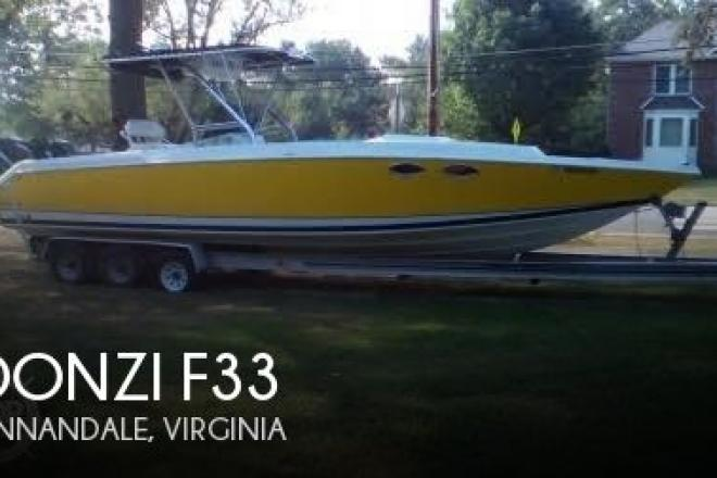 1988 donzi f33 33 foot 1988 donzi fishing boat in for Donzi fishing boats