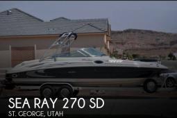 2006 Sea Ray 270 SD