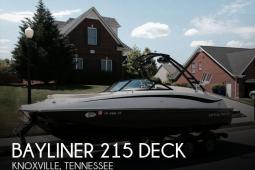 2013 Bayliner 215 Deck
