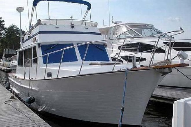 1986 senator trawler 35 foot 1986 fishing boat in essex for Used fishing boats for sale in md