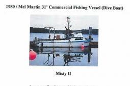 1980 Mel Martin Commercial Dive Vessel