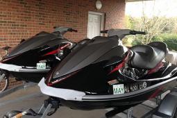 2009 Yamaha VX Cruiser (Pair)