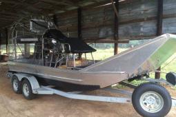 2014 Custom Built Alumatech Hull Custom Airboat