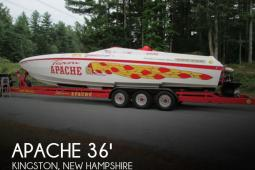 1999 Apache 36 - Factory Team # F2-36