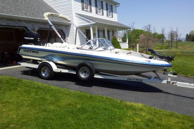 Nitro new and used boats for sale in pennsylvania for Nitro fish and ski
