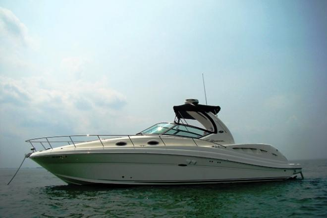 2005 Sea Ray 340 SUNDANCER - For Sale at Harrison Township, MI 48045 - ID 49006