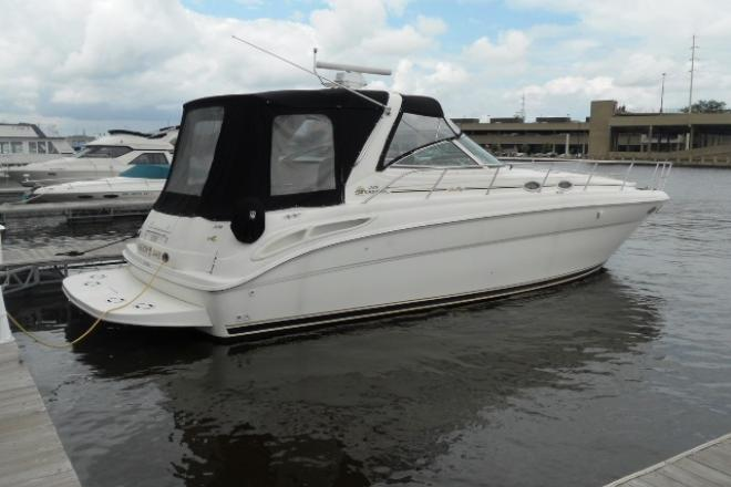 2000 Sea Ray 380 SUNDANCER - For Sale at Oshkosh, WI 54901 - ID 36782