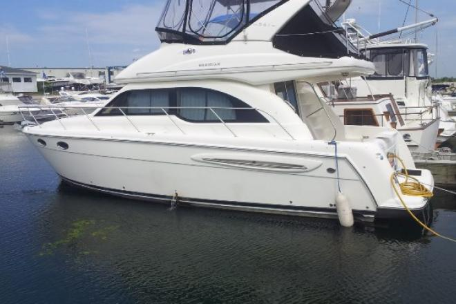 2003 Meridian 341 SEDAN - For Sale at Pewaukee, WI 53072 - ID 64972