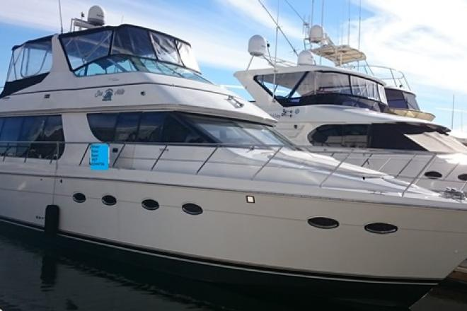 2001 Carver 570  VOYAGER - For Sale at San Diego, CA 92101 - ID 80751