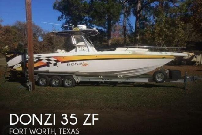 2001 donzi 35 zf 34 foot 2001 donzi fishing boat in fort for Donzi fishing boats